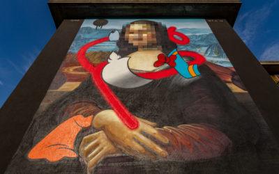Anche Wall in Art su Rai 5 per raccontare il genio di Leonardo a 500 anni dalla morte