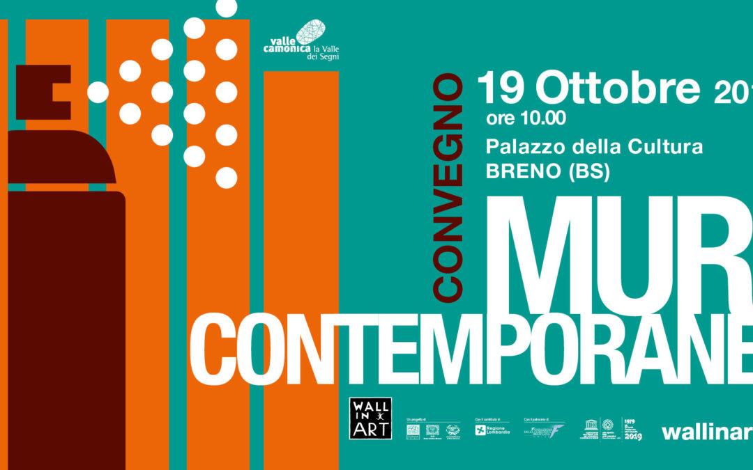 Muri Contemporanei: riflessioni e prospettive sull'arte pubblica [il 19 ottobre a Breno]