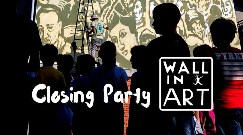 Davanti ai muri. La festa di chiusura di Wall in Art 2018