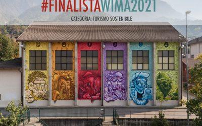 """Lagazuoi Expo Dolomiti: Wall in Art si classifica al terzo posto nella categoria """"Turismo di montagna innovativo e sostenibile"""""""